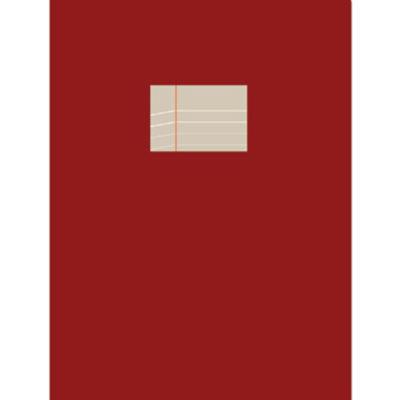 Carnet Compat - bordeaux