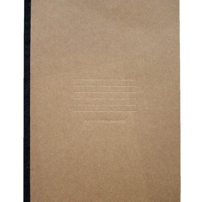 Carnet Free Note - Brun